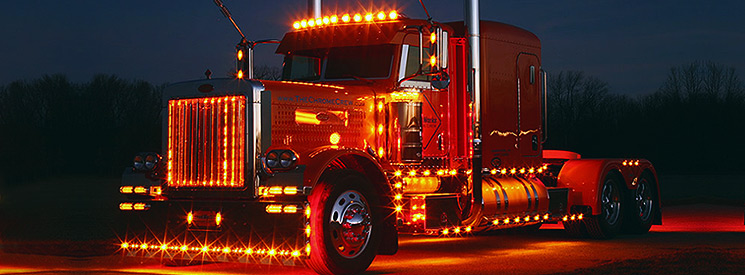 led lights for semi trucks interior exterior led lighting. Black Bedroom Furniture Sets. Home Design Ideas