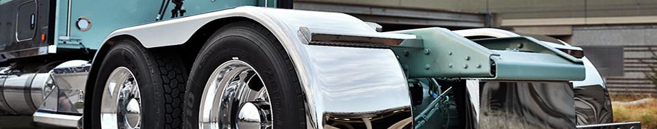 Big Truck Fenders Stainless Steel : Semi truck fenders mounting kits for sale online raney s
