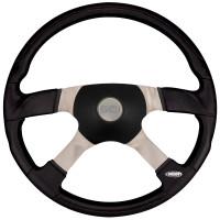 """18"""" Trucker 4 Steering Wheel With Black Sport Pad"""
