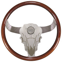 "Buffalo Bull 18"" Steering Wheel"