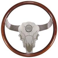 """Buffalo Bull 18"""" Steering Wheel"""