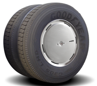 Aluminum Aero Axle Covers for Rear Drive Wheels