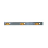 "Freightliner Classic 38 3/4"" Cab Panels With 6 Amber Infinity LEDs"