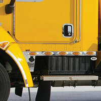 Kenworth T170 T270 T370 Cab Panels With 10 Infinity Amber LEDs