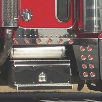 Peterbilt 359 379 & Non-DEF 388 389 With DPF Cab Panels With Flat Lights