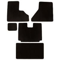 Freightliner Century Columbia & Coronado Floor Mats 5 Piece Kit Carpet Black Manual