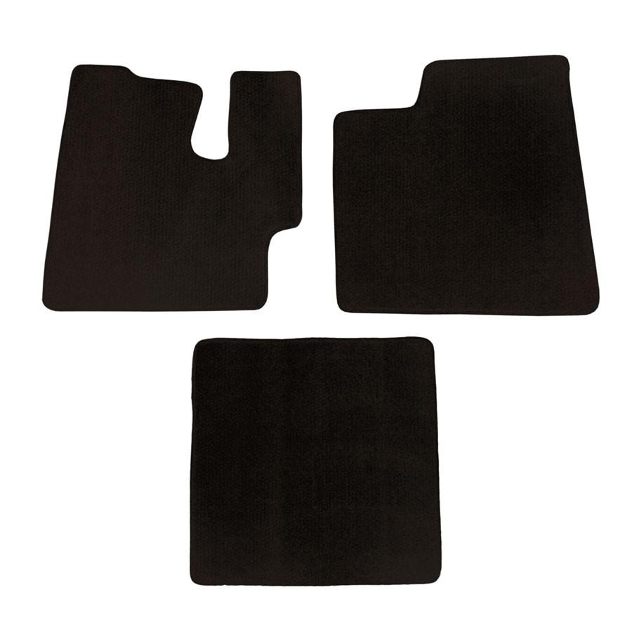 Weathertech floor mats brampton - Kenworth T660 T800 W900 Floor Mats 3 Piece Kit Carpet Black Manual Transmission