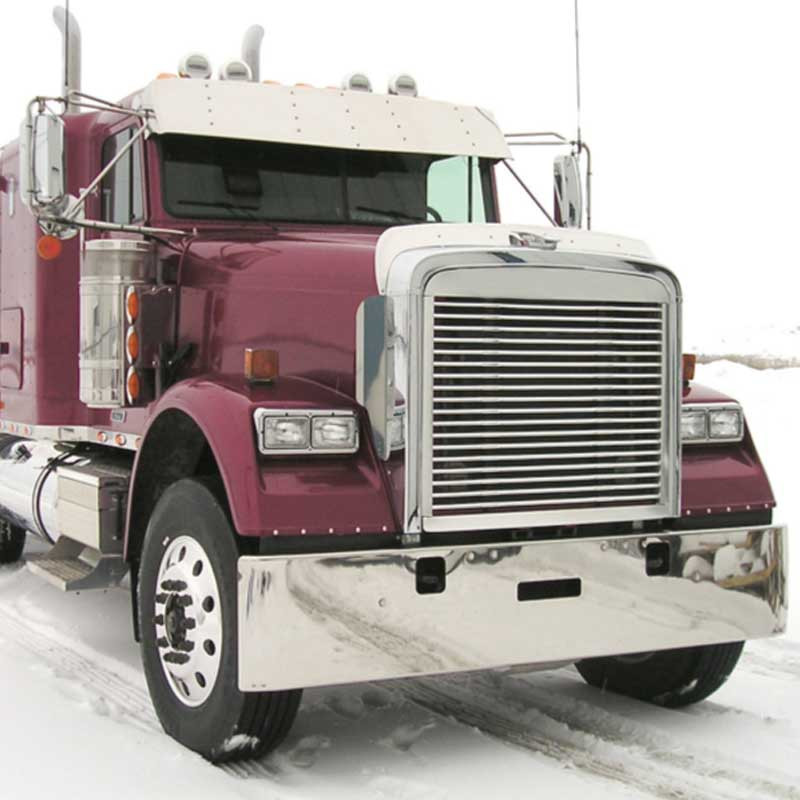 Fld 120 Accessories : Freightliner fld classic flat top quot visor for factory
