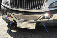 International ProStar Stainless Steel Bumper Trim