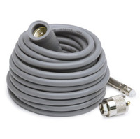 K40 18' Super Mini-8 CB Antenna Cable With Removable FME Connector