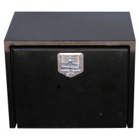 "36"" Black Steel Tool Box"