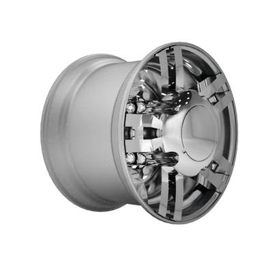 Super Single Spyder Zed Series Chrome Rear Axle Wheel ...