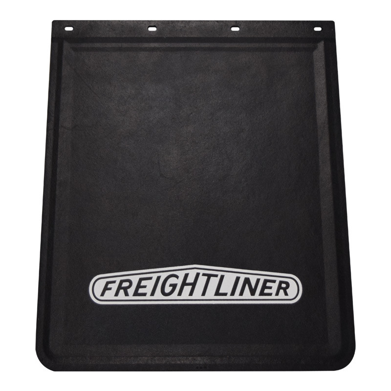 Rubber Mud Flap With White Freightliner Logo 24 Quot X 30 Quot By Grand General Raney S Truck Parts