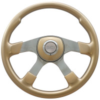 "18"" Comfort Champagne Gold Steering Wheel Universal Pad"