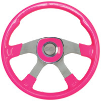 "18"" Comfort Hot Pink Steering Wheel Universal Pad"