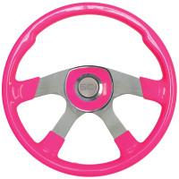 "18"" Comfort Hot Pink Steering Wheel Universal Pad"