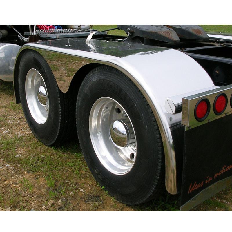 Stainless Steel Truck Fenders : Hogebuilt stainless steel quot tear drop low rider full