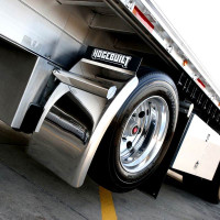 Value Line Hogebuilt M Series Quarter Fenders With Universal Mounting Kit On Truck