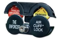 The Enforcer Tractor Trailer Air Brake Lock