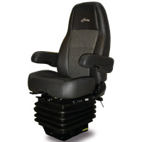 Sears Premium Atlas II LE Seat Heated & Cooling Black/Asphalt Leather