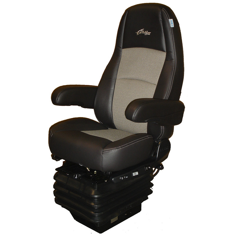 Sears Premium Atlas Ii Le Seat Heated Amp Cooling Black Wheat Leather Raney S Truck Parts