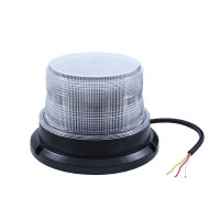 High Power LED Beacon Strobe Light Clear Amber Low Profile