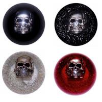 Chrome Skull Embedded Shift Knob Colors