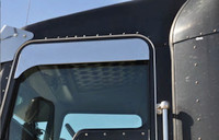 "Peterbilt 379 386 389 5"" Eagle Flange Chop Top Window Trim - On Truck"