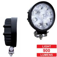 High Power LED Round Work Light 9 Diodes