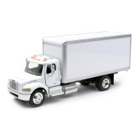 Freightliner M2 White Box Truck 1/43 Scale
