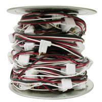 """2 Prong 100 Foot Roll Wire Harness With 12"""" Spacing"""
