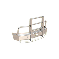 Volvo VNL Herd Defender FLT Bumper Grill Guard With Horizontal Bars