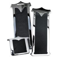 Kenworth Chrome Plated Billet Aluminum Foot Pedal Set