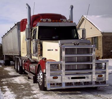 Western Star 4900 Herd Super Road Train Bumper Grill Guard