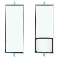 Stainless Steel West Coast Mirror