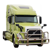 Volvo VNL Big Front Grill Guard