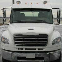 Freightliner Business Class M2 106 & 112 Raised Roof Drop Visor