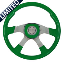 "18"" Comfort Shamrock Green Steering Wheel"