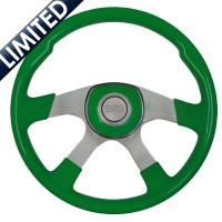 "18"" Comfort Shamrock Green Steering Wheel"