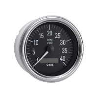 Semi Truck Electrical Programmable Tachometer Gauge With LCD Hourmeter Series 1
