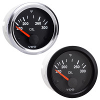 Semi Truck Electrical Oil Temperature Gauge Vision