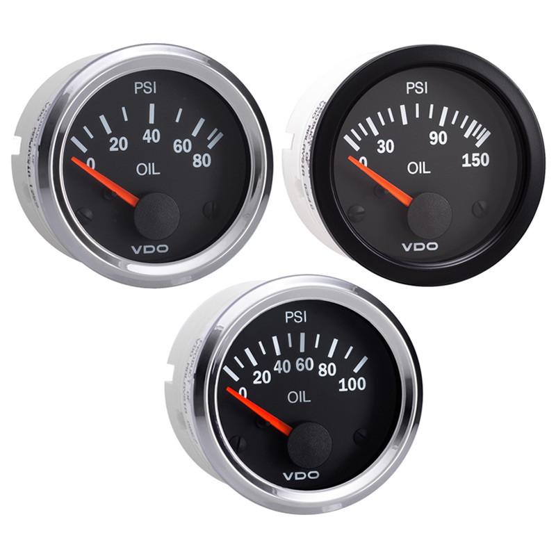 Semi truck electrical oil pressure gauge vision raney s