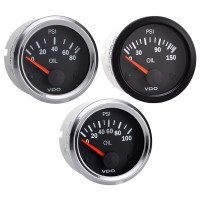 Semi Truck Electrical Oil Pressure Gauge Vision