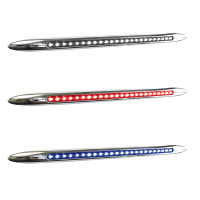 "17"" Dual Revolution Flatline Red And Blue LED Marker Light"