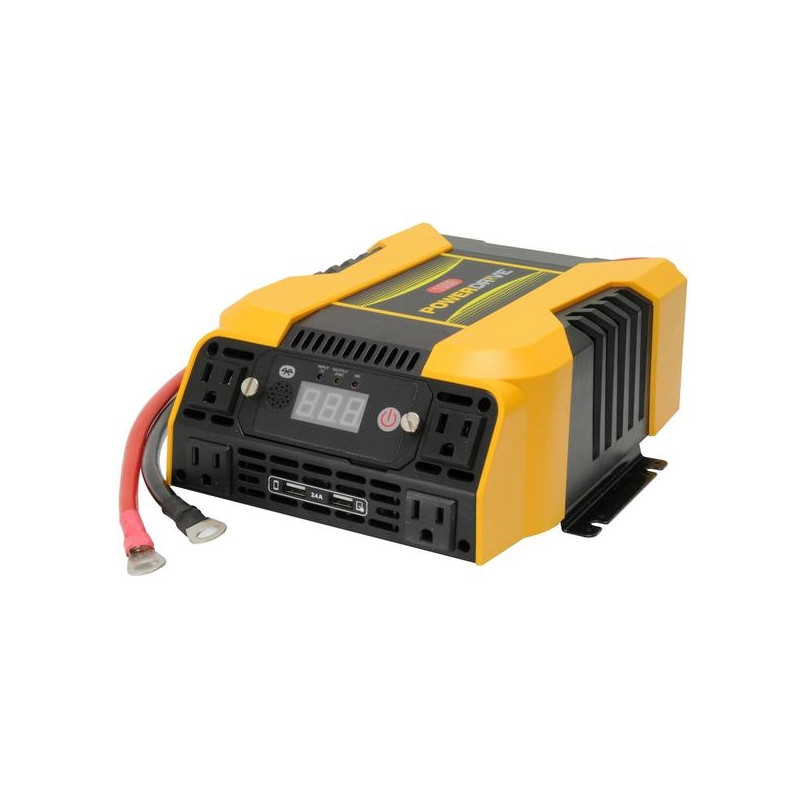 PowerDrive 1500 Watt Power Inverter with Bluetooth