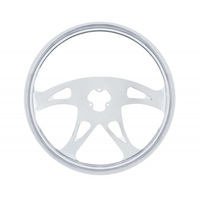 18Š— Stainless Steel 4 Spoke Boss Steering Wheel Without Hub And Horn Assembly