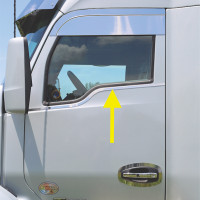 Kenworth T680 T880 Upper Door Under Window Trims