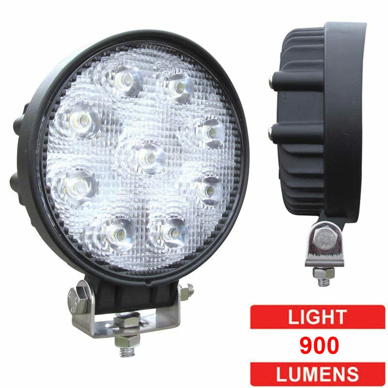 Led Flood Light High Power: High Powered Round LED Flood Work Light