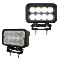 8 High Power 6 Watt LED Work Double Mount Flood Light