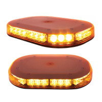 30 High Power LED Micro Strobe Amber Lens Warning Bar On
